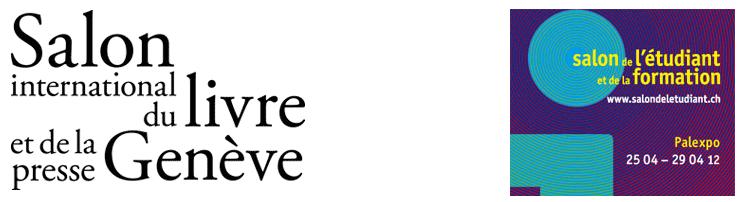 Salon du livre de Genève dans Modele de l'Atome logo